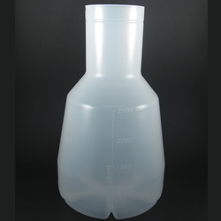 2.5L Sterile Ultra Yield Flask. For use with AirOTop Enhanced Seal (#899425), Patented, 6pc